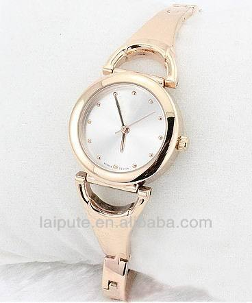2015 smart vogue stainless steel brand omax ladies watch