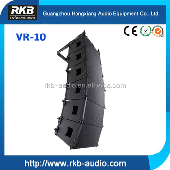 "VR-10 new design 2 way 1 x 10"" compact line array"