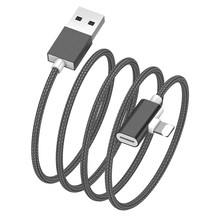 Hot selling 3.5mm AUX And USB Cable 2 in <strong>1</strong> Connector For iphone 7 charging cable