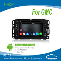 "Quad Core 7"" Android 4.4.4 Car Multimedia Player for Chevrolet GMC Yukon 2007--2012 with HD GPS Navigation Wifi 3G Bluetooth"