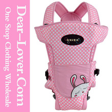 China Popular Pink Convertible Printed Baby Kangaroo Carrier