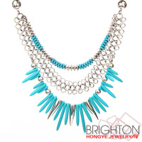 Chunky Choker Statement Necklace N6-10093-7680