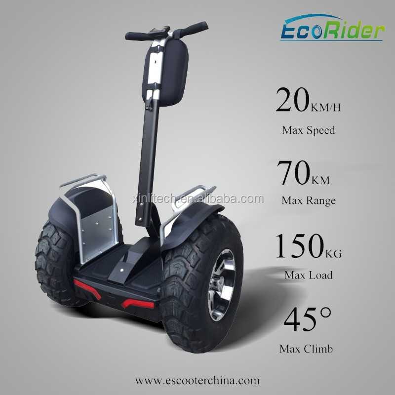 EcoRider big wheel electric scooter; golf electric chariot