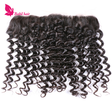 Afro Kinky Curly Lace Frontal Human Hair Extension From China