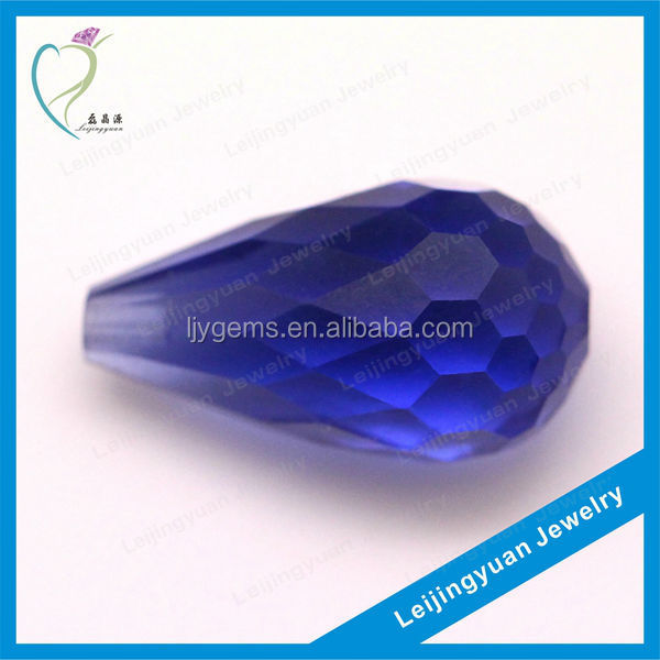 Wholesale tear drop blue tanzanite rough