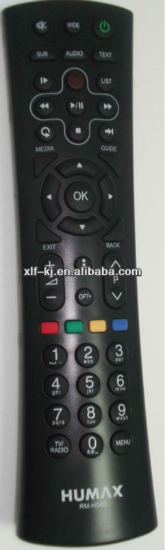 high quality HUMAX RM-H04S remote control for humax