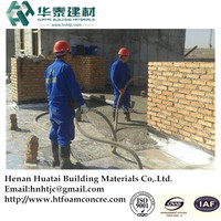Cast-in-situ building construction foaming cement materials engineering