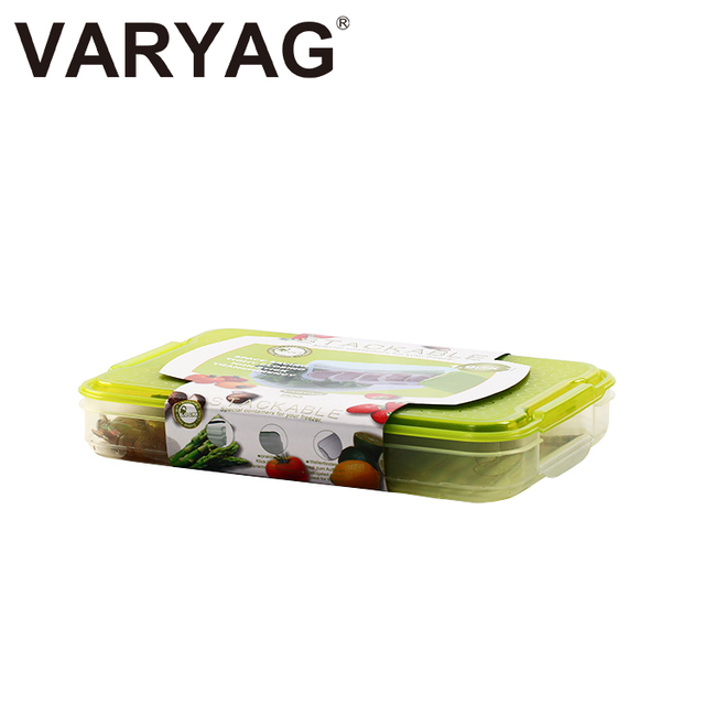 2017 Hot sale simple design household plastic lunch bento box/ food container
