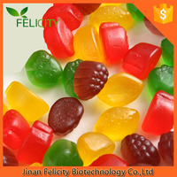 Pectin Vegetarian Calcium+Vitamin D vitamin gummy bear candy made in china