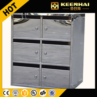 Custom Made Stainless Steel Mailbox for Letters Steel Mailbox Cabinet Small Mailbox