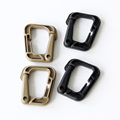 Nylon Carabiner D-Ring Clip Hook Outdoor Camping Buckle Snap