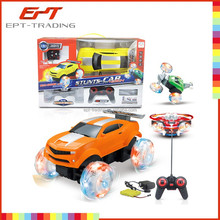 Remote control toy 3 in 1 five functions rc stunt toy car for kids