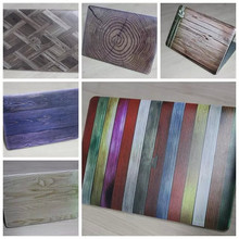 Wood Grain DIY Laptop Decal Sticker Protective Case Full Skin For MacBook Air Pro Retina 11 12 13 15inch
