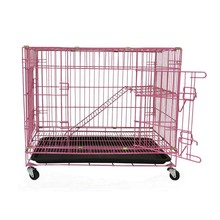 Large cheap folding wire cat condo cage MHC001