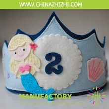 Hot Selling OEM quality kids hair and accessories mermaid crowns hairband