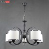 E27 well painting black pendant led bulb black and white chandelier