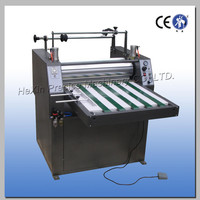Automatic pneumatic pvc film lamination machine