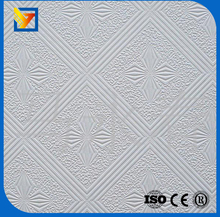 soundproof ceiling board pvc gypsum ceiling panels