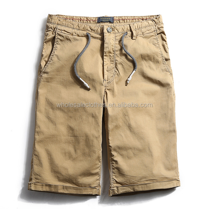 onenweb stock shorts Men's large size shorts-cargo pants plain shorts