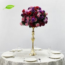 GNW Artificial round flower ball foam Wedding roses ball