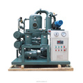 remove trace water from double stage vacuum transformer oil purification purifier by UK g technology