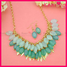 Fashion costume jewelry necklaces set WNK-272