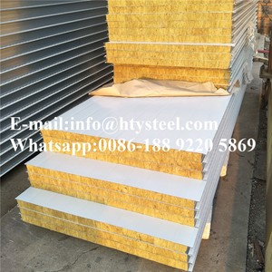 rockwool sandwich panels/fire rate panels to australian standard