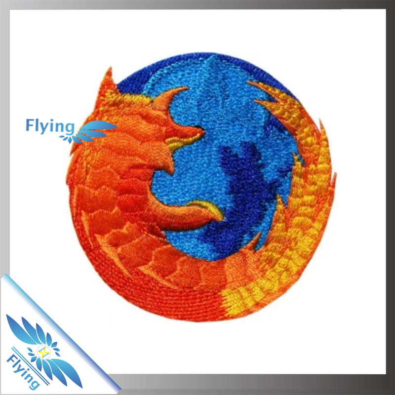 New Hot Selling Products Iron On Embroidery Patches Dragon Patch Embroidery Custom