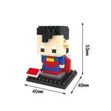HSANHE Naughty Boys Best Gifts DIY Puzzle Rubber building blocks toys For Kids