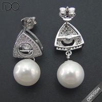 Trade assurance dancing diamond earrings jewelry