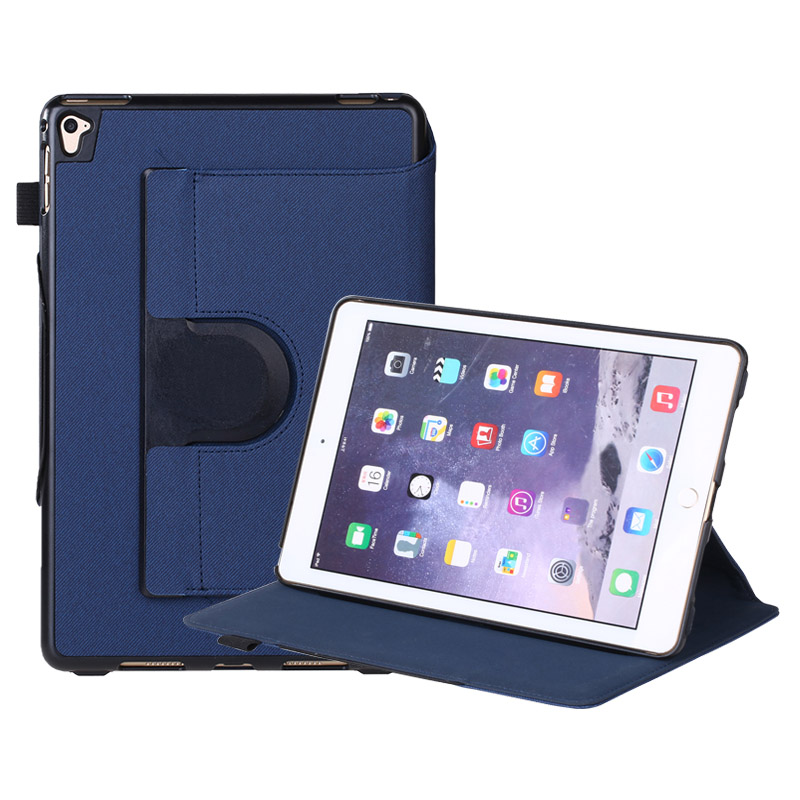 360 Degree Swivel Stand Protective Case Cover for iPad Air 2