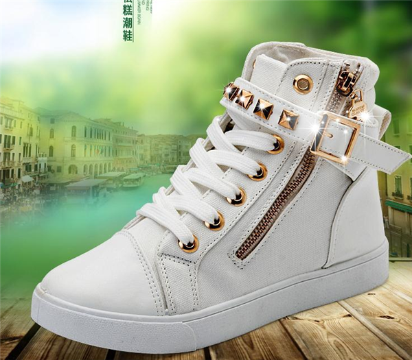 HFR-T1729 Spring fashion 2015 Latest design pure color used shoes for sale
