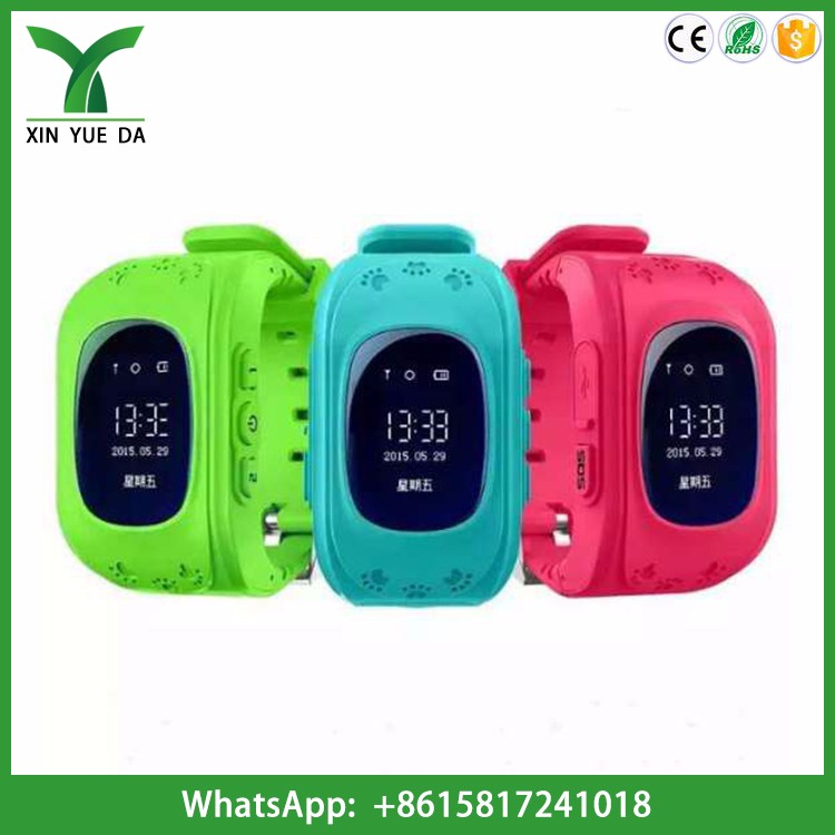 Wholesale q50 smart baby watch kids gps watch anti lost