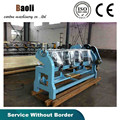 four knife slotting carton machine