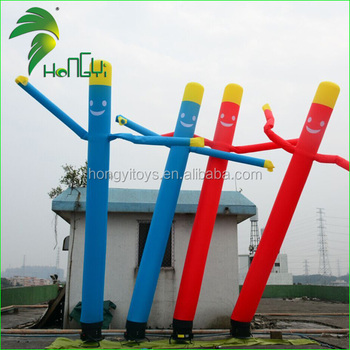 6M Sky Dancer , High Quality Oxford Cloth Inflatable Air Dancer With Blower For Advertising