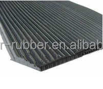 Oil resistant fine ribbed rubber matting manufacture in China