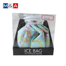 Portable knee face dry ice pack bags hot cold pack cold compress bag