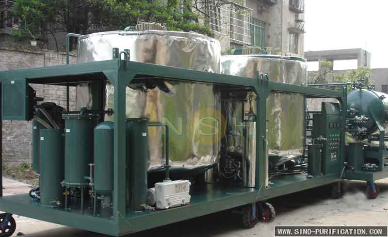 Super Strong Vacuum Engine Oil Purifier Machine