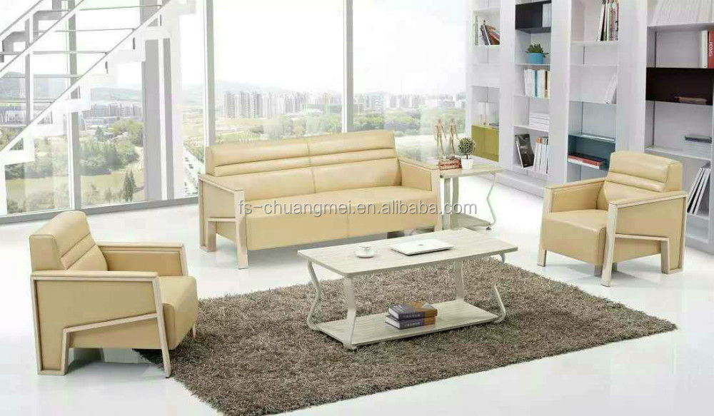 Cheap Small Sectional Sofa Economic Living Room Small Leather Sectional Sofas CKD Packing CM207o