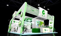 international food exhibition/ fair/ show booth/stand/stall design and fabrication