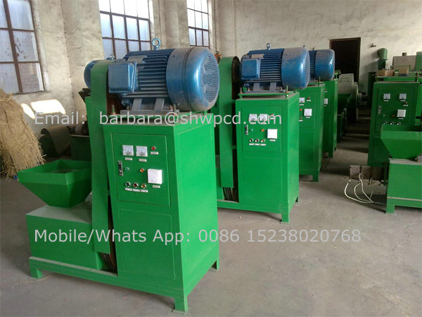 Factory price wood charcoal briquette extruder machine on sale