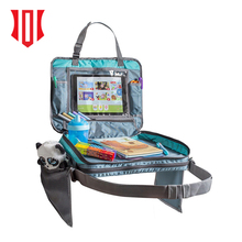 2018 Portable Kids Car Seat Snack Tray Travel Tray Car Lap Desk Storage Organizer Carry Bag Tablet Holder