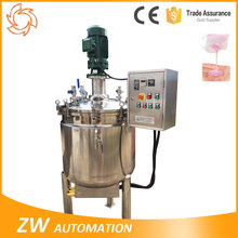 Shampoo Liquid Soap Mixer Blender Steam Jacketed Vessel