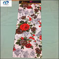 microfiber bright color disperse print of soft hand feeling bedsheet fabric factory