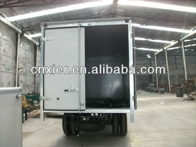 Tractor Trailer Head On : Tractor head truck trailer wing open box for sale