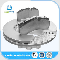 Hot selling RVI 90R GG20 G3000 Gray iron Material Brake Discs