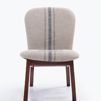 Solid Wood Cloth Chair Contracted Wooden