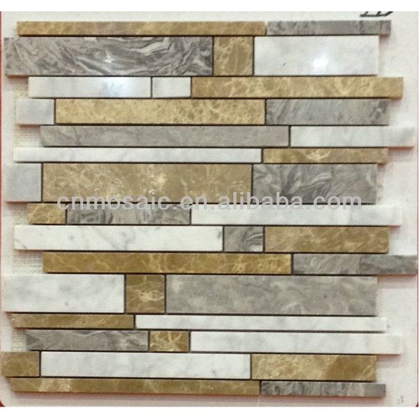 Mosaico de piedra baldosa home depot para ba o mosaicos for The home depot pisos
