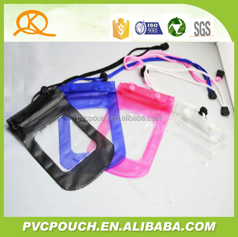 Newest coming pvc eva clear window waterproof dry pouch