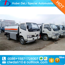 the new product Cheaper oil tanker/fuel tank truck small gasoline fuel tanker truck for sale